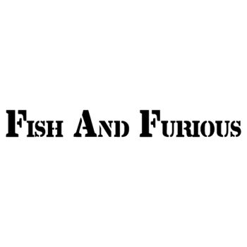 Fish And Furious decorative Decal
