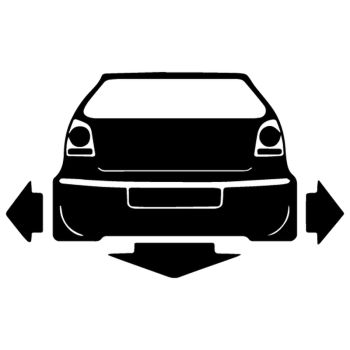 Down and Out VW Polo decal