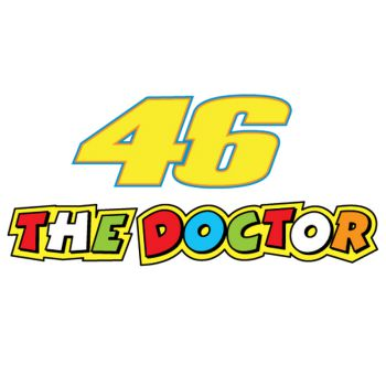 The Doctor Valentino Rossi 46 Decal