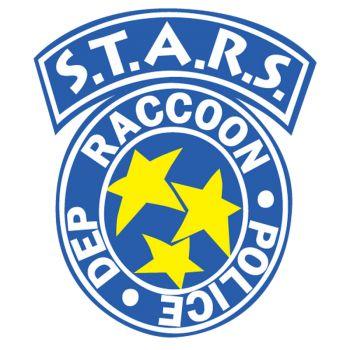 Sticker Raccon City Stars