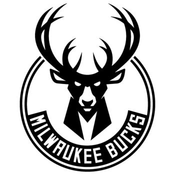 Sticker Milwaukee Bucks Nouveau Logo