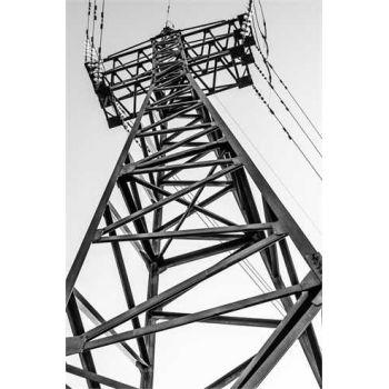 Electric pylon deco decal