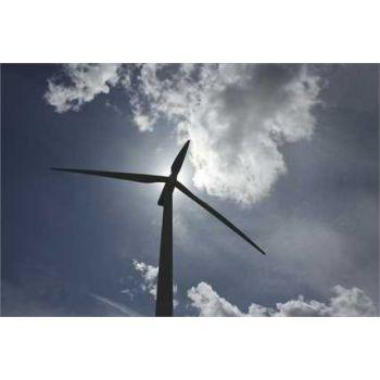 Wind turbine deco decal