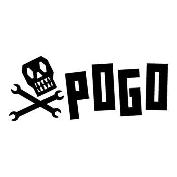 Sticker Pogo Skateboarding