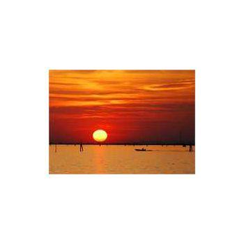 Coucher de soleil Venise Sticker Déco