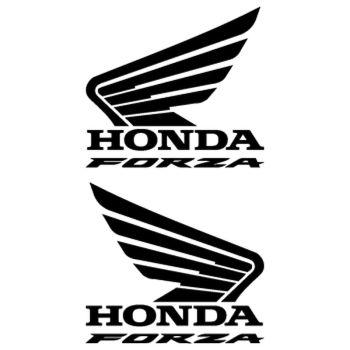 Kit de 2 stickers Honda Forza Logo