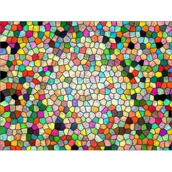 Stained glass colours deco decal 2