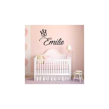 Custom Queen baby bedroom decoration decal