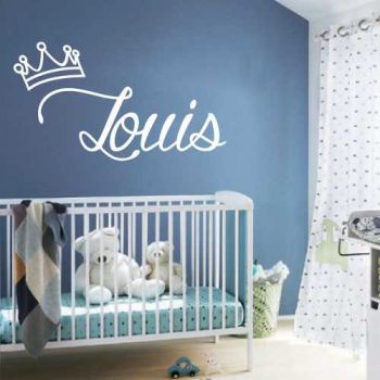 Custom King baby bedroom decoration decal