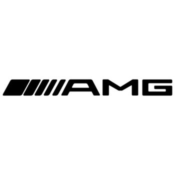 AMG Mercedes logo 2015 decoration decal