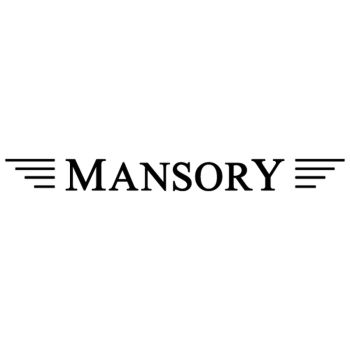 Sticker Mansory Logo