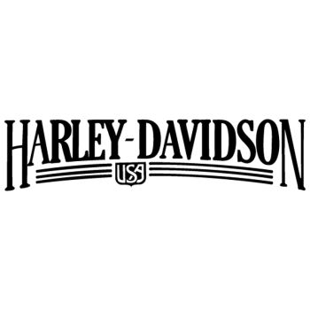 Sticker Moto Harley Davidson USA Logo ★