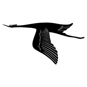 Bird in flight Decal