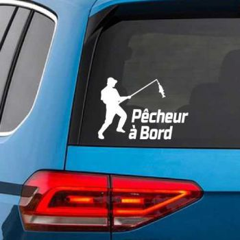 Pêcheur à Bord Decal
