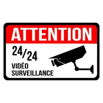 Sticker Maison sous vidéo surveillance
