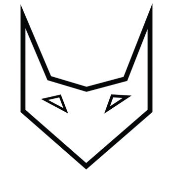 Origami Fox decal