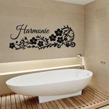 Harmonie Flowers Decal
