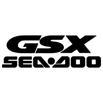 Sticker Sea Doo GSX Logo