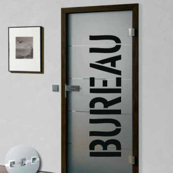Sticker Deco Porte Bureau