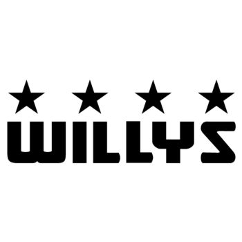 Jeep Willys decoration decal