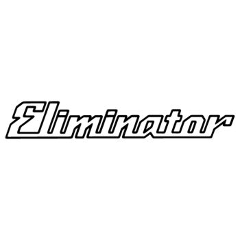 Kawasaki Eliminator logo decal