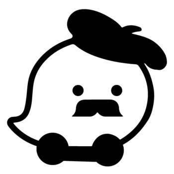Sticker Wase Moustache