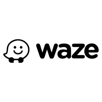 Sticker Waze Logo