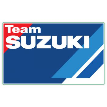 Team Suzuki logo decal