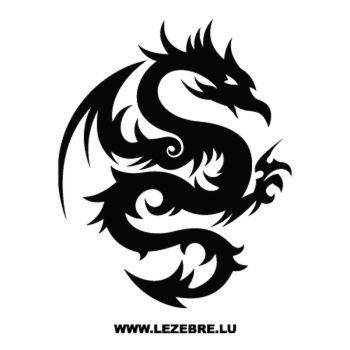 Sweat-Shirt Dragon Tatuage Motif 23