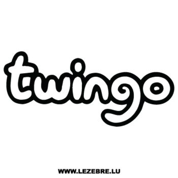 Renault Twingo Decal