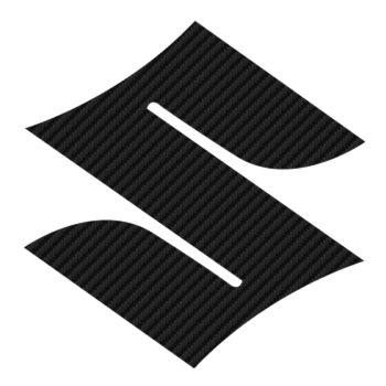 Sticker Carbone Suzuki Logo