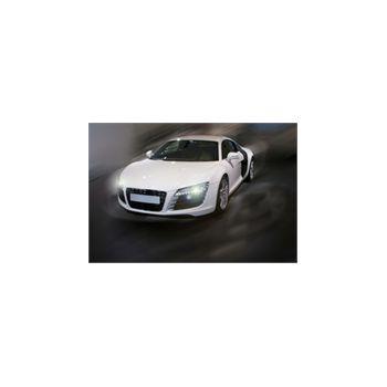 Sticker Déco Audi R8 blanc