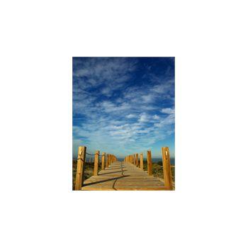 Sticker Déco Chemin en bois plage Portugal