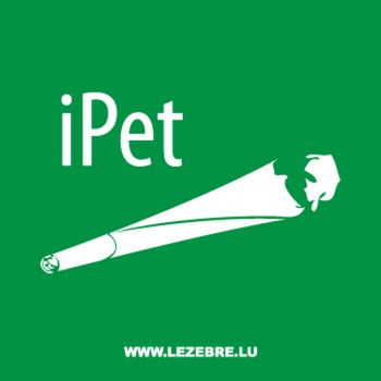 Sweat-Shirt iPet parodie iPhone