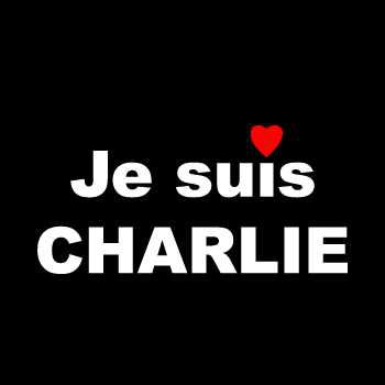 Je suis CHARLIE  love decal   *FREE WITH ANY PURCHASE