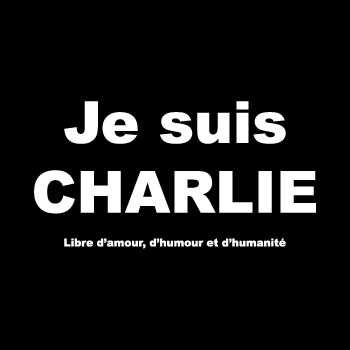 T-shirt I'm Charlie free love, humor and humanity