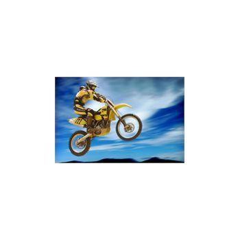 Sticker Déco Saut Motocross