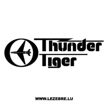 Sweat-Shirt Thunder Tiger Logo