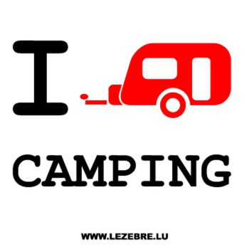 Sweat-Shirt I love Camping Car