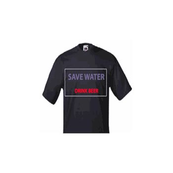 Sweat-Shirt Save Water Drink Beer