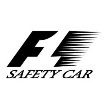 Formule 1 F1 Logo Decal - safety car