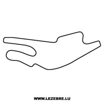 Bugatti Le Mans Circuit Decal