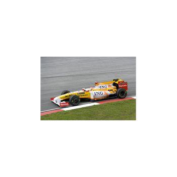 Sticker Déco F1 Racing Renault