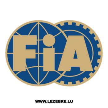 FIA Logo Color Decal