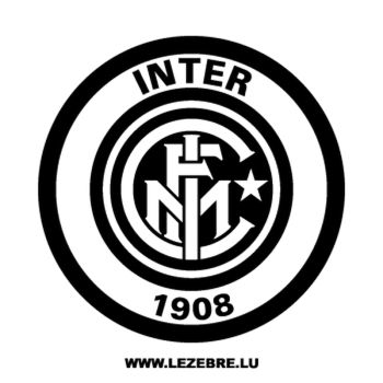 > Sticker Inter Milan Logo
