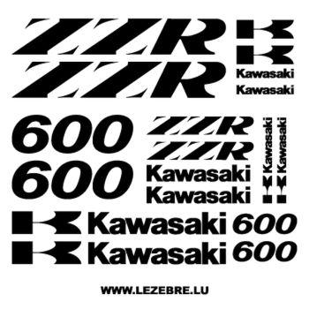 Kit Decals Kawasaki ZZR 600 (2)