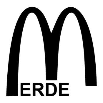 Casquette Mc Merde parodie Mc Donald's
