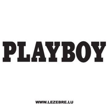 Casquette Playboy Logo Ecriture