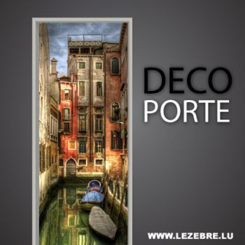 Venice Lane door decal