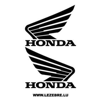 Kit de 2 stickers Honda Logo